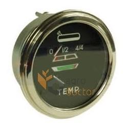 Temperature and fuel gauge 30/174-11 Bepco