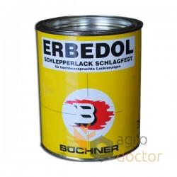 Red paint for Welger balers 750 ml [Erbedol]