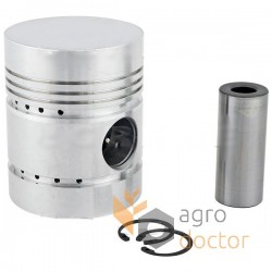 Piston with rings 30/32-16 [Bepco]