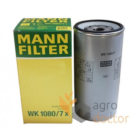 Fuel filter WK 1080/7x [MANN] OEM:RE531703, WK1080/7x for John Deere, order  at online shop agrodoctor.euagrodoctor.eu