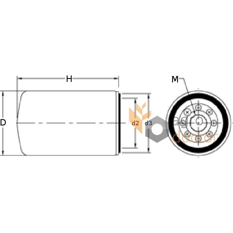 fuel filter 656501 0 claas  bepco  oem j903640  01160243 for case