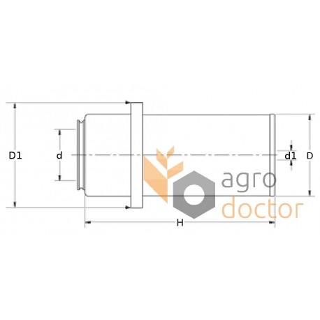 Donaldson P119539 Filter