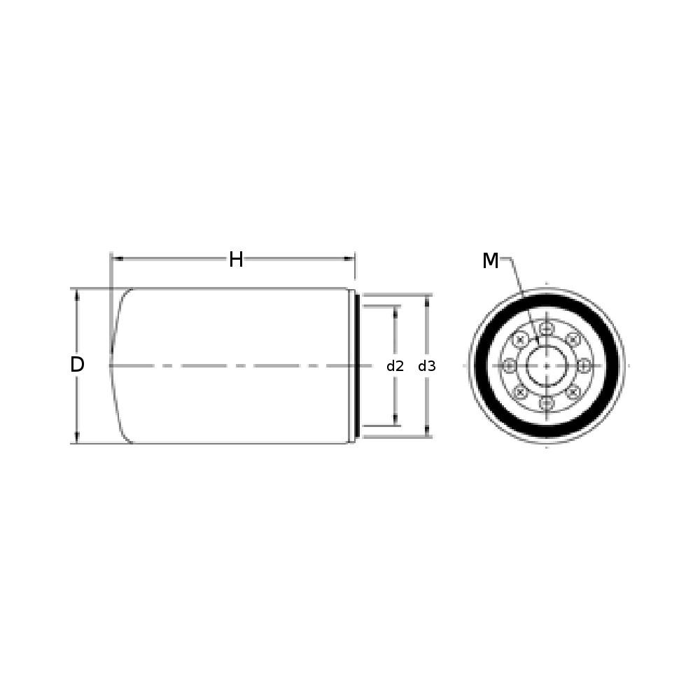 fuel filter pff56223  parker