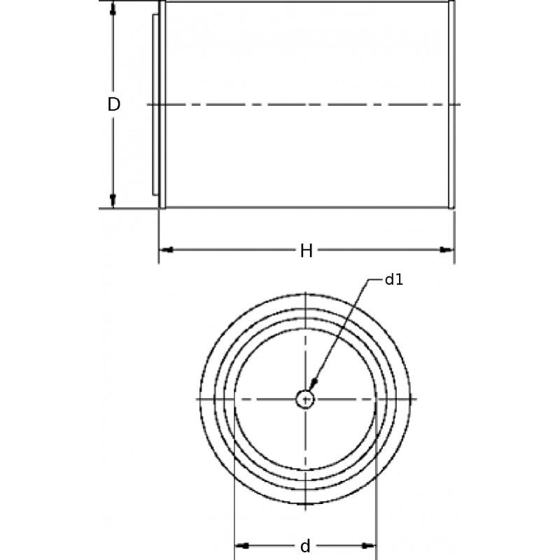 oil filter  insert  ox 80d  knecht  oem 133031 for case