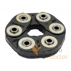 Flexible coupling rubber disc 40x130mm - Germany