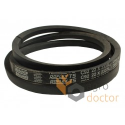 Classic V-belt E61137 [John Deere] Cx2396 Roflex TS [Roulunds]