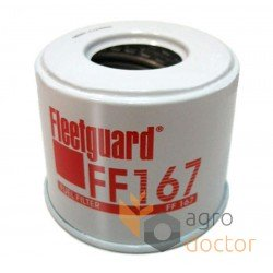 Fuel filter (insert) FF167 [Fleetguard]