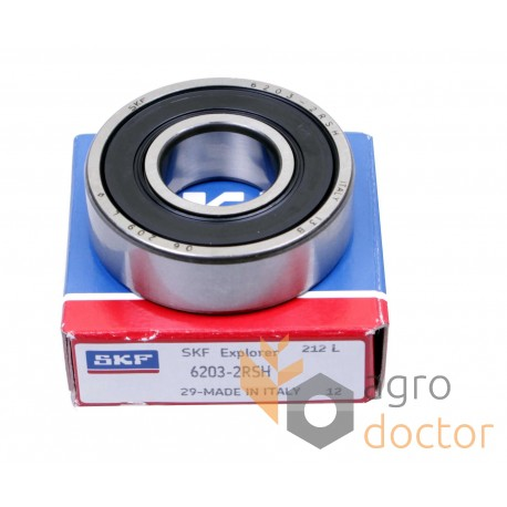 SKF 6307-2RS1 Deep Groove Ball Bearings 35x80x21 mm