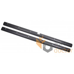 Set of rasp bars 0001747650 for CLAAS combines (1400 mm., 6 hole.) L+L