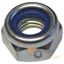 Zinc plated locknut M16