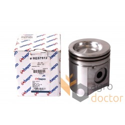 Piston with pin for engine - RE57512 John Deere [Bepco]
