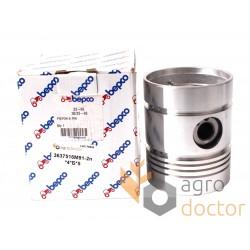 Piston with pin for engine - 3637516M91 Massey Ferguson [Bepco]