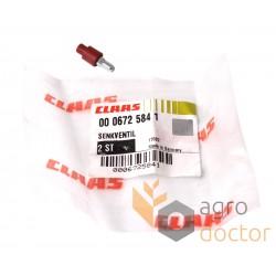 Check distributor valve 0006725841 for Claas combine hydraulic system [Original]