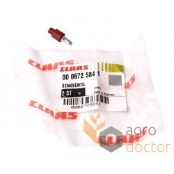 Check distributor valve 0006725841 for Claas combine hydraulic system [Original]