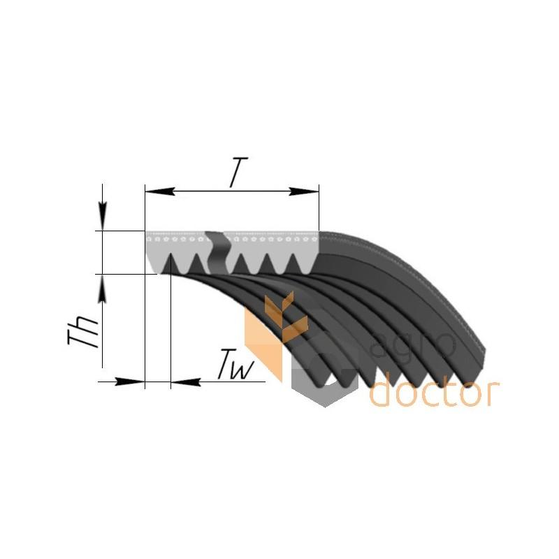 Courroie 8/x 475/Li DIN 2215/en V Belt