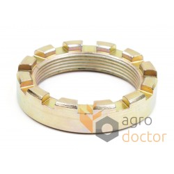 Castellated nut M45x1,5 - 0005008911 Claas