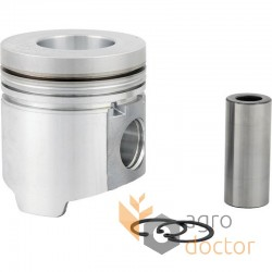 Piston with pin for engine - AR87736 John Deere [Bepco]