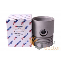 Piston with pin for engine - 740821M91 Massey Ferguson [Bepco]