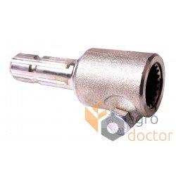 Adapter for universal drive shaft of PTO 20х6