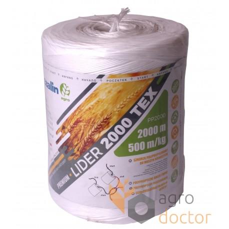 Agro-twine polypropylene PP2000 (4кг 2000м)