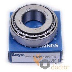 M86649 / M86610 [Koyo] Roulement à rouleaux coniques