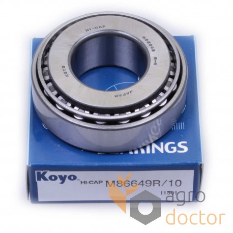 M86649/M86610 [Koyo] Tapered roller bearing OEM:JD8979 for John Deere, Buy  in eShop: agrodoctor eu