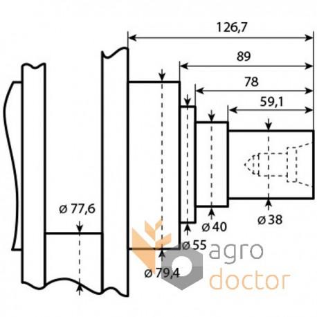 Crankshaft RE45517
