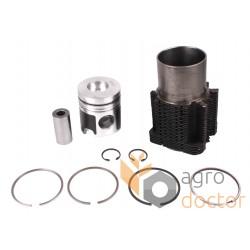 Piston kit set 21/31-136 for Deutz diesel engine, 4 rings