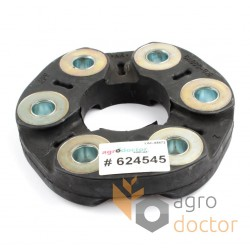 Flexible coupling rubber disc 65x160mm [SGF]