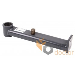 Lever of the tension roller of the variator of the fan for cleaning the grain of the combine 629623 Claas