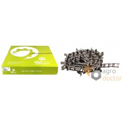 Return grain elevator chain ТРД- 38.4 R/SD/J2A [ AGV Parts], per meter