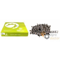 Return grain elevator chain ТРД- 38.4 R/SD/J2A [ AGV Parts], per meter