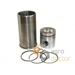 Piston set 3218759R95 Case-IH, (3 rings)