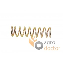 Spring 644392 for Claas combine header - 12x46mm