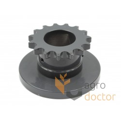 Sprocket with flange - 0007349861 Claas