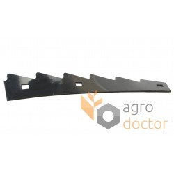 Left end rotor cover 0007528792 Claas Lexion - 3 holes, 11x15mm
