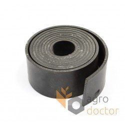 Rubber sealing tape 0006470590 of grain pan
