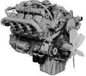 Diesel Engine PERKINS V8.540