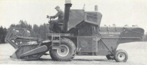Combine harvester MASSEY FERGUSON MF 86, MASSEY FERGUSON MF