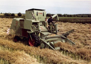 Combine harvester CLAAS MERCUR