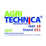 Visit us at Agritechnica!