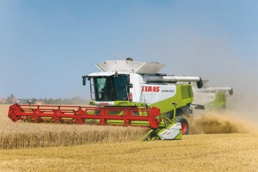 Combine harvester CLAAS LEXION 600